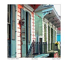 French Quarter Charm Photographic Print