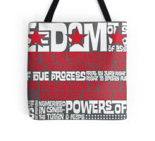 DC Spelled Out Tote Bag