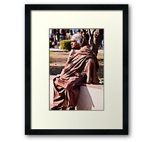 Swaddled For Warmth Framed Print