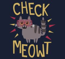 Check Meowt One Piece - Short Sleeve