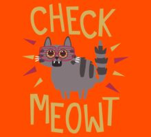 Check Meowt Kids Tee