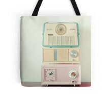 Radio Stations Tote Bag
