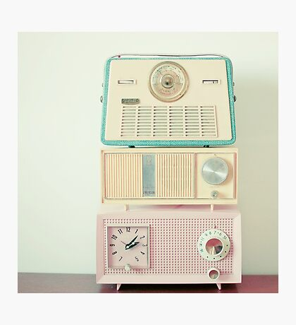 Radio Stations Photographic Print