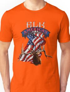 Elk America's Legend V2 Unisex T-Shirt