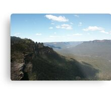 Blue Mountains at Katoomba Metal Print