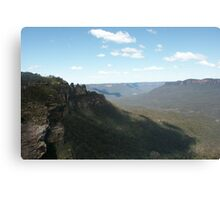 Blue Mountains at Katoomba Canvas Print