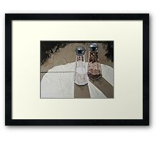 """Shakers in the spotlight"" Framed Print"