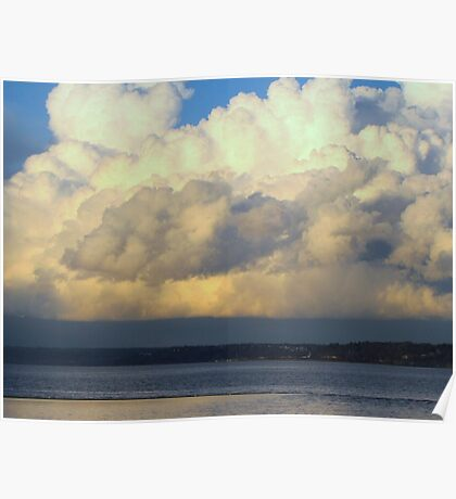 Cloud...Out To Sea... Poster