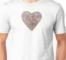 Rustic Heart Celtic Knot Unisex T-Shirt
