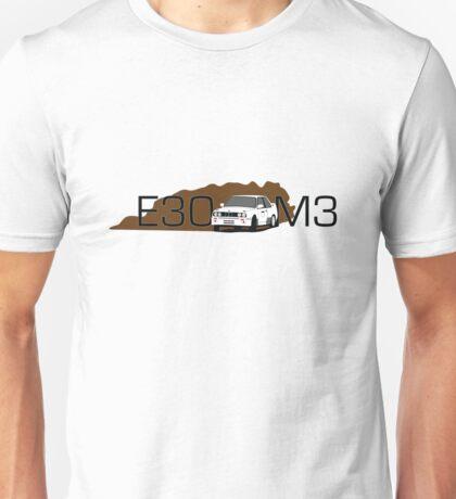 BMW E30 M3 Rally Car Unisex T-Shirt