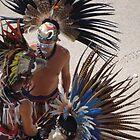 Colourful Feathered Headdress - Plumero De Colores by Bernhard Matejka