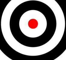 Bullseye Sticker
