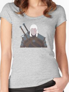 Geralt of Rivia - The Witcher Women's Fitted Scoop T-Shirt