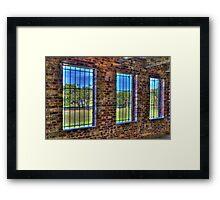 HDR Wall of Atalaya! Framed Print