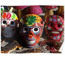 Wonderful Skulls - Calaveras Coloradas Poster