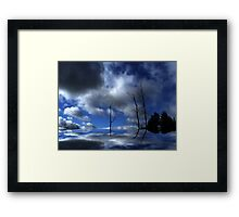 Reaching ! Framed Print