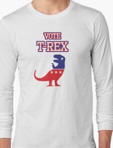 Vote T-Rex Long Sleeve T-Shirt
