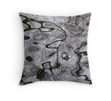 The Maze of Time and Trees Throw Pillow