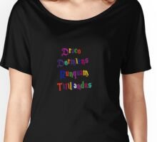 Hogwarts - Never Tickle a Sleeping Dragon Women's Relaxed Fit T-Shirt