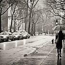 Rainy Day - Greenwich Village - New York City  by Vivienne Gucwa
