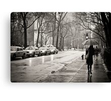 Rainy Day - Greenwich Village - New York City  Canvas Print