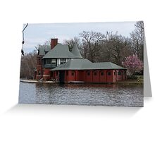 Boathouse at Roger Williams Park Greeting Card