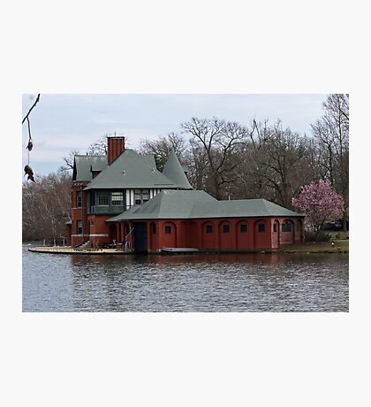 Boathouse at Roger Williams Park Photographic Print
