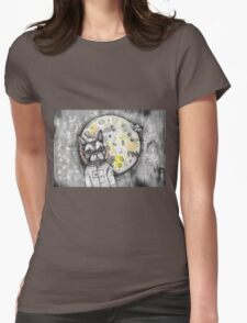 Boston Moon Womens Fitted T-Shirt