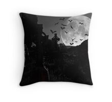 Who Let The Bats Out? Throw Pillow