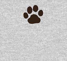 Dog Paw Print Unisex T-Shirt