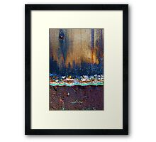 the city never sleeps Framed Print