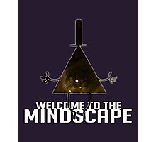 Welcome to The Mindscape -Golden Photographic Print