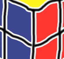 Cube Puzzle Sticker