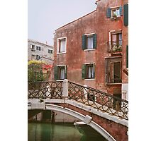 Vintage scenery from Venice. Photographic Print