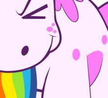 Unicorn 'I Puke Rainbows!' Sticker