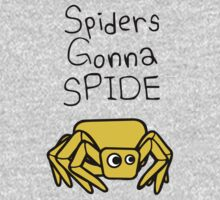 Spiders Gonna Spide Baby Tee