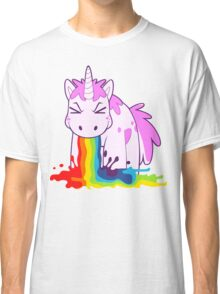 Unicorn 'I Puke Rainbows!' Classic T-Shirt