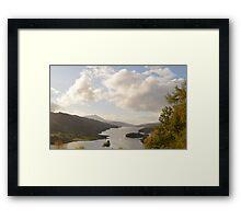 Queen's View, Tummel Loch Framed Print