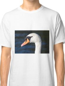 Swan Water Droplets  Classic T-Shirt