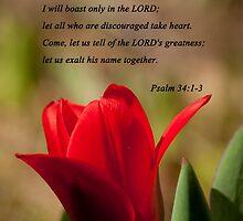 Psalm 34:1-3 by Deborah McLain