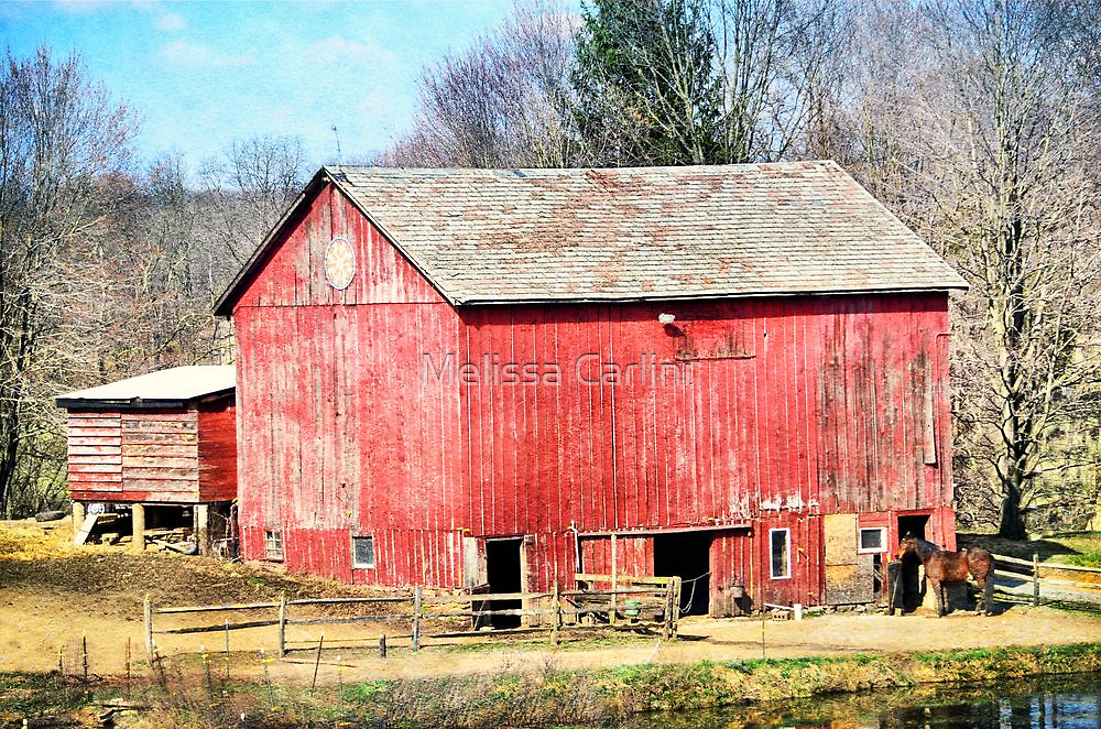 My First Red Barn by Melissa Carlini