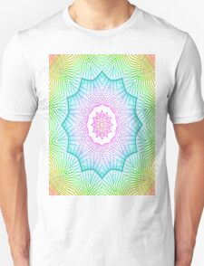 Spiro generated Kaleido Unisex T-Shirt