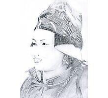 Nepalese Woman Photographic Print