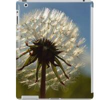 Glowing dandelion  iPad Case/Skin