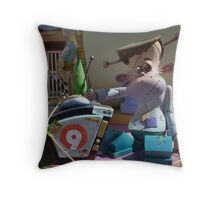 Monsterous programming Throw Pillow