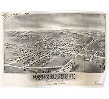 Panoramic Maps Womelsdorf Pennsylvania Poster