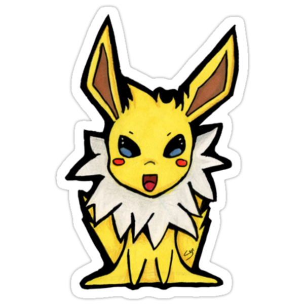 Jolteon by TinySkye