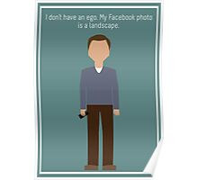 "Jeff Winger: ""Facebook Photo"" Poster"