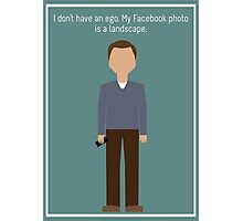 "Jeff Winger: ""Facebook Photo"" Photographic Print"