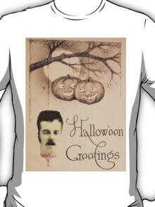 Just Hanging Around (Vintage Halloween Card) T-Shirt